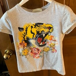 Gucci Tiger T-shirt Girl's size 10
